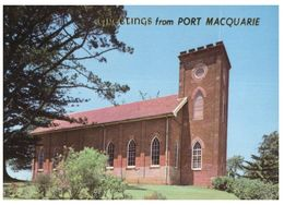 (B 25) Australia - NSW - Port Macquarie Church - Port Macquarie