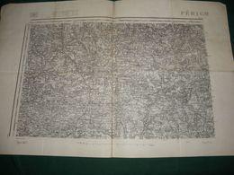 CARTE D ETAT MAJOR :  PERIGUEUX ( ROCHECHOURT ) - Topographical Maps