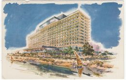 Nile Hilton Hotel Cairo Egypt  - UAR Postcard 1963 - El Cairo