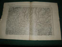 CARTE D ETAT MAJOR :  PERIGUEUX - Topographical Maps