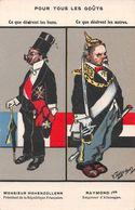 Pour Tous Les Goûts - Poincaré - Guillaume - Guerre 1914-18 - Ed. Lausanne Suisse - Humor