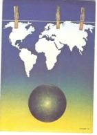 CP - Michel Granger - La Grande Lessive - Ed Nouvelle Images CP 289 - Peintures & Tableaux