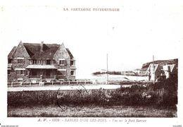 Sables D'Or Les Pins. Vue Sur Le Port Barrier. - Francia
