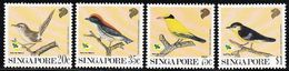 1991 Singapore Garden Birds Set (** / MNH / UMM) - Songbirds & Tree Dwellers