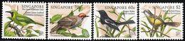 1998 Singapore Songbirds Set (** / MNH / UMM) - Songbirds & Tree Dwellers