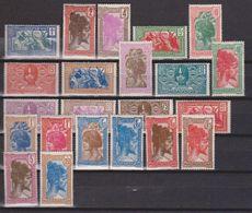 Madagascar N° (yt) 161A à 178 Neufs **/ * Tc - Madagascar (1889-1960)