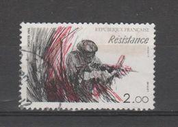 """FRANCE / 1984 / Y&T N° 2312 : Du Dyptique """"Libération"""" (TP Résistance) - Choisi - Cachet Rond - France"""
