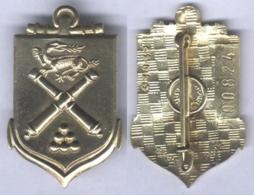 Insigne De L'Ecole D'Application De L'Artillerie - Matriculé - Esercito