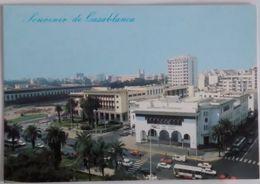 1985 CASABLANCA Maroc CENTRE VILLE CPM 1x15 NEUVE édition Createc - Casablanca