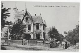 """LA BAULE-SUR-MER - LA """"CONCORDE"""" ET L'AVENUE - BELLE ANIMATION - VERS 1900 - La Baule-Escoublac"""