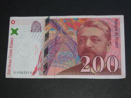 200 Deux Cents Francs - EIFFEL - 1997  **** EN ACHAT IMMEDIAT **** - 1992-2000 Ultima Gama