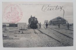Cpa Oujda Arrivée D Un Train En Gare.1913, Intendance Militaire - Sin Clasificación