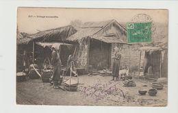 VIETNAM  CPA / VILLAGE ANNAMITE / 1908 - Vietnam