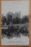 79 : Menigoute - Château De La Barre - Façade Sur La Vonne - Animée : Petite Animation - (n°18044) - France