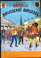 (321) Barelli In Bruisend Brussel - Bob De Moor - 1988 - 32p. - Vlaamse Executieven - Barelli