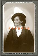 Old Photo Postcard Yacub Portrait Woman Girl With Hat Buenos Aires Argentina - Anonymous Persons