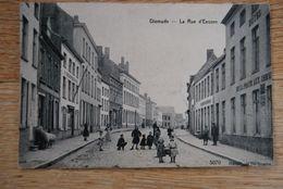 3056/ DIXMUDE-La Rue D'Eessen-Hôtel De La Poste Aux Chevaux (écrite Vers GAND)1911 - Diksmuide
