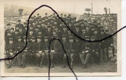 CARTE PHOTO. CPA . Peloton Mobile 306  De Gendarmerie CHAMPIGNY .Soldats Qui Posent Pour La Photo . Année 1936 - Fotografía