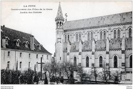 LA PUYE COMMUNAUTE DES FILLES DE LA CROIX JARDIN DES CLOITRES TBE - Francia