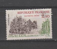 """FRANCE / 1984 / Y&T N° 2324 : """"Touristique"""" (Palais Idéal Du Facteur Cheval à Hauterives - Drôme) - 2ème Choix : 1 DC H - France"""