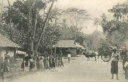SRI LANKA - CEYLON - COLOMBO - SCENE DE RUE à BAMBALAPITAYA - Sri Lanka (Ceylon)