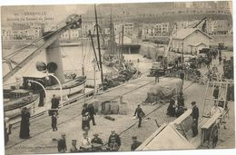 SEMEUSE 10C CONVOYEUR LISON A AVRANCHES 28 AOUT 1906 CARTE GRANVILLE ARRIVEE DE BATEAU DE JERSEY - Jersey