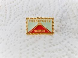 PINS PROMOPOSTE CANNES 06  / Base Dorée 1992 / 33NAT - Postes