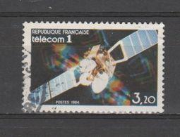 FRANCE / 1984 / Y&T N° 2333 : Satellite Télécom 1 - Choisi - Cachet Rond - France