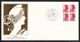 """France 1985 FDC """"Liberté"""" De Delacroix N°2376. - 1980-1989"""