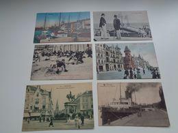 Beau Lot De 60 Cartes Postales De Belgique  Ostende     Mooi Lot Van 60 Postkaarten Van België  Oostende - 60 Scans - Cartes Postales
