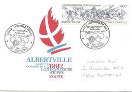 1986 Candidature D'Albertville Aux Jeux Olympiques D'Hiver De 1992: Le Soutien Du Lions Club - Invierno 1992: Albertville