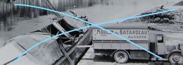 Photo AUXERRE Chargement Péniche Grain Moulin Du Batardeau Camion Molen Entrepôt De Salines - Lieux