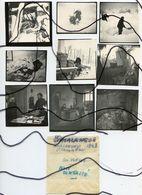 9 PHOTOGRAPHIES IDENTIFIÉES. D73 . SAVOIE. Saint-Colomban-des-Villards. Apres L'avalanche De 1942. Bureau De Poste - Plaatsen