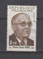FRANCE / 1984 / Y&T N° 2344 : Vincent Auriol - Choisi - Cachet Rond - France
