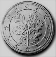 MONNAIE 5 Cents 2002 ALLEMAGNE  Euro Fautée Non Cuivrée Etat Superbe - Errors And Oddities