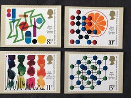 GB GREAT BRITAIN 1977 MINT PHQ CARDS ROYAL INSTITUTE OF CHEMISTRY No 21 STEROIDS VITAMIN C STARCH SALT CRYSTALS MEDICINE - Química