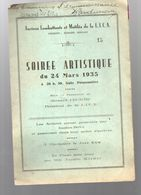Paris Bd St Denis : Programme Du Gala Des Anciens Combattants De La LICA  1935 (M0295) - Programmes