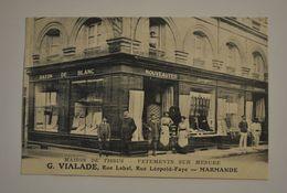 47 Lot Et Garonne Marmande Maison De Tissus Vetements Sur Mesure G.VIALADE Rue Labat Rue Leopold Faye - Marmande