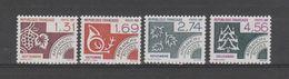 """FRANCE / 1987 / Y&T PREO N° 194/197 ** : """"Mois De L'année"""" - 3ème Série (4 TP) X 1 - 1964-1988"""