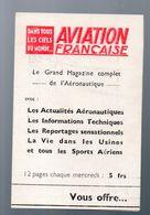 (aviation) Calendrier 1946 De La Revue AVIATION FRANCAISE  (PPP23284) - Calendriers