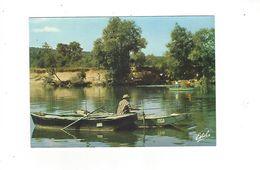 THEME PECHE   VENDANGES EN CHAMPAGNE   PECHEURS SUR LA MARNE  ***          A SAISIR ***** - Fishing