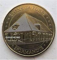 Monnaie De Paris 27.Lyons La Forêt - La Halle 2015 - Monnaie De Paris