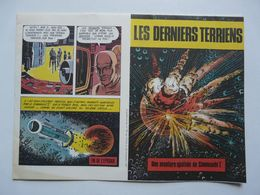 """LES DERNIERS TERRIENS - Une Aventure Spatiale Du Commando """"I"""" - Livres, BD, Revues"""