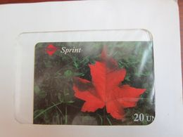 Sprint Instant Foncard, Maple Leaf,sealed In Envelope,expired - Canada