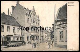 ALTE POSTKARTE CASTROP WITTENERSTRASSE STRASSENBAHN SCHWENKWIRTSCHAFT CASTROP-RAUXEL Tram Tramway Postcard Ansichtskarte - Castrop-Rauxel