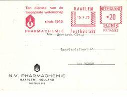 Pharmachemie BV Haarlem 1970 - Tendienste Van De Toegepaste Wetenschap - Seit 1946 Holland - Apotheek