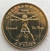 Monnaie De Paris 37.Amboise - L'Homme Vitruvien Léonard De Vinci 2003 - Monnaie De Paris