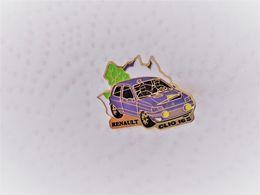PINS AUTOMOBILE RENAULT CLIO 16S   / 33NAT - Renault