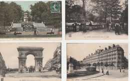 20 / 7 / 93  -  DIJON  ( 21 ). LOT  DE  24 CPA - Toutes Scanées - Cartes Postales