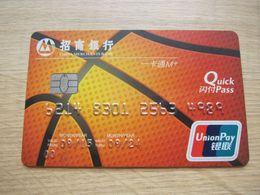 China Merchants Bank,basketball - Télécartes